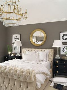 Love, love this! Hoping my bdrm will be this glamorous!