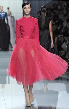 Dior FW 2012.  It's so unfair that I can't wear no pants in public, but Lady Gaga can. RUDE. I love this dress.