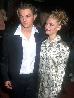Another way to make your updo more exciting was to make sure the ends of your hair were spiky instead of tucking them in with bobby pins. This way, they poked out in all directions and confused the eye. Claire Danes got a young Leonardo DiCaprio's attention with these broomlike bristles.