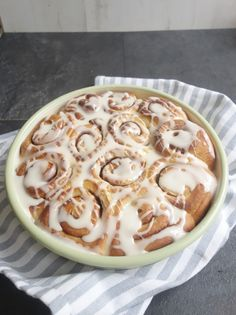 Homemade Cinnamon Rolls - A Dash of Ginger