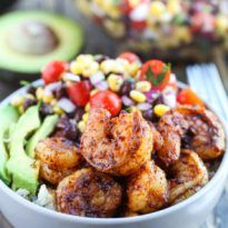 Spicy Shrimp Burrito Bowls recipe with cilantro lime rice and a corn black bean salsa. They are so good and make the perfect weeknight meal! When I think of a burrito bowl, I think of Chipotle like I am sure most people do. That was my first experience with eating one and has given me...Read More »