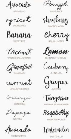 Ultimate Handwriting Free Fonts for your Wedding Invitations, diy . Ultimate Handwriting Free Fonts for your Wedding Invitations, diy . Handwriting Examples, Summer Font, Spring Font, Inspiration Typographie, Hanya Tattoo, Tattoo Fonta, Logo Design, Cricut Fonts, Lettering Tutorial