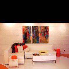 Entrez chez la Rousse espace beauté et decouvrez plusieurs artistes québécois ;) toile , bijoux ect