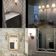 Beautiful Wallpaper, Mirror, Bathroom, Frame, Furniture, Home Decor, Washroom, Picture Frame, Decoration Home