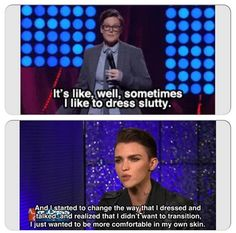 A Comedian Re Creates Ruby Rose's Instagram Posts And The Results Are Hilarious - #celebrities #news #fight #love #cause #gay #lgbt #health #events #comedian #re create #ruby #rose #instagram #hilarious #hannah #gadsby