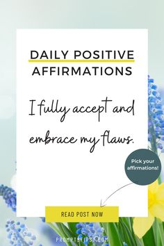 Daily Positive Affirmations, Positive Vibes, Positivity, Optimism