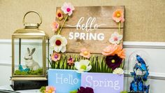 Maria Provenzano gets you ready for spring with this DIY sign for your home! Watch for more DIY inspiration on Home & Family weekdays at 10/11c!  #SpringFever #HallmarkChannel