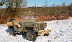 1944 Willys MB - Photo submitted by Morten F. Hansen. Willys Mb, Cars Land, Jeep Cj, Military Vehicles, Ww2, Monster Trucks, Classic, Derby, Army Vehicles