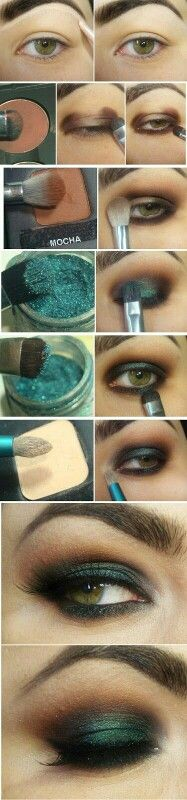 Lindo tono esmeralda!!