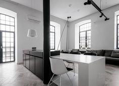 Loft in Lodz, by Tamizo Architects | Scandinavian Deko.
