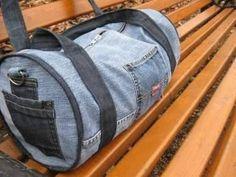 Gym Bag, Jeans, Womens Fashion, Manualidades, Polymer Clay Art, Women's Fashion, Woman Fashion, Denim, Denim Pants