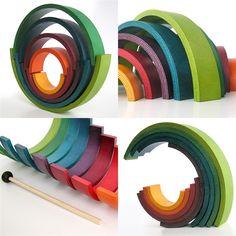 "Naef ""Rainbow"" handmade toy"