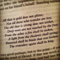 Tolkien :) love it!