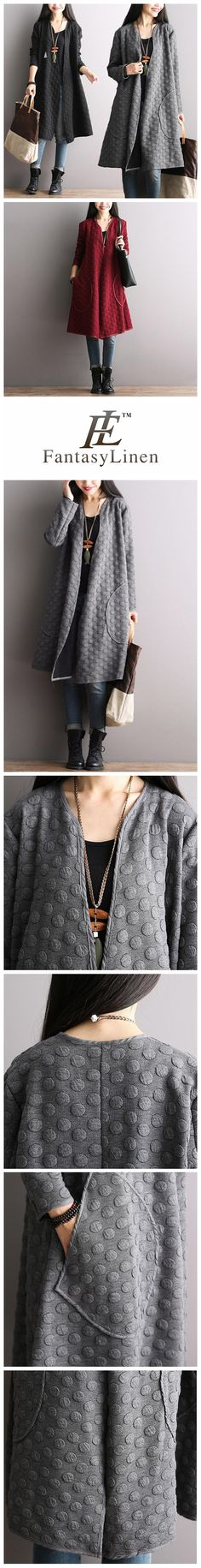 Korean Style Maxi Size Loose Knitting Coat Bat Sleeve Casual Tops Women Clothes W8251A  W8251AGray