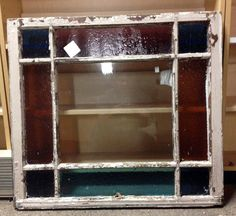 Antique Stained Glass Window.