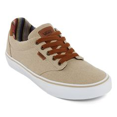 93f3c888be Vans Atwood Deluxe Mens Lace-up Skate Shoes