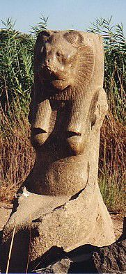 Sekhmet at the Mut Temple