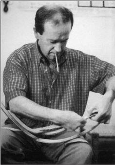 The master craftsman Miguel Angel Arriaga