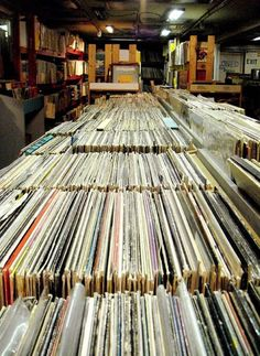 Vinyl-- If you don't have a personal collection that you still listen to..ya don't know what you're missing.