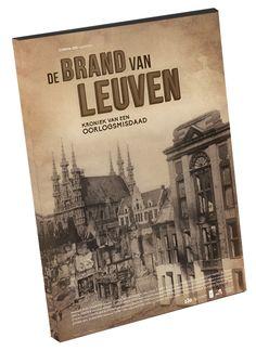De Brand van Leuven // The Sac of Louvain // www.Daltonshop.be #WWI #WereldOorlog1 #1914