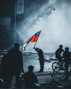 """""""DIGNITY"""": Chile has had enoughWe're not protesting because of the subway ticket price (""""it's not 30 pesos, it's 30 years! Chili, Protest Posters, Stunning Wallpapers, Honeymoon Destinations, Thought Provoking, South America, Vacation, World, Instagram"""