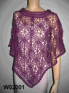 Crochet Spot » Blog Archive » Crochet Pattern: Striped Poncho