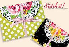 Resultado de imagen para Fabric Envelope How-To
