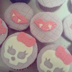 Cupcakes Monster High #cupcakes #monsterhigh