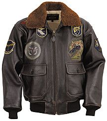 G-1 Top Gun Leather Bomber