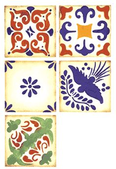 Mexican Designs on Pinterest | Mexican Tiles, Mexican ...