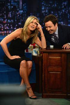 Jimmy Fallon - Jennifer Aniston Visit 'Late Night With Jimmy Fallon'