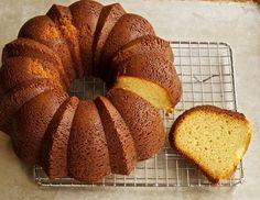 Yeasted Vanilla Cake