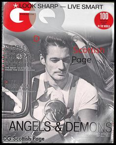"""David James Gandy #LCM """" love the look , come join the party """" #SS15 #DavidGandy #style #look book"""