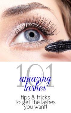 Amazing Lashes 101: Mascara Secrets To Give You Long and Lush Lashes without False Lashes