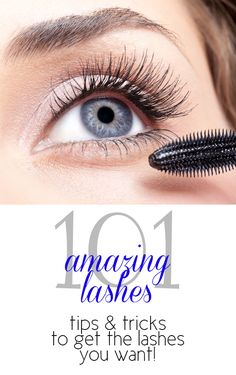 Amazing Lashes 101: Mascara Secrets To Give You Long and Lush Lashes!