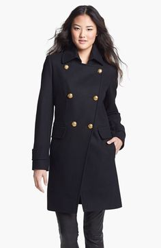 DKNY Cutaway Military Coat available at #Nordstrom