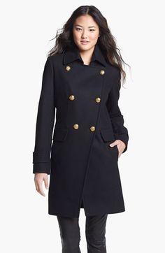 Cutaway Military Coat / DKNY