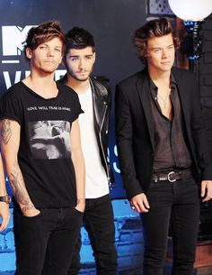 Louis Zayn and Harry VMA's 2013