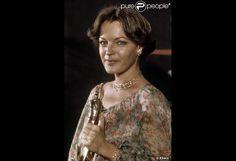 Romy Schneider, César de la meilleure actrice pour L'important c'est d'aimer, 1976....