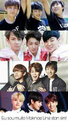 BTS | The maknae line has grown so muchhh I mean look at them now ;) (they are still as cute as ever hahahha)