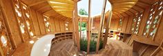 Wood lovers Latest at #WoodLovers blog: a sustainable shelter or a metaphor about the sustainable development based on farming. An #architecture project made by using corn walls #WoodLovers