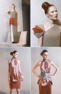 Beautiful sleeve detail by Ukrainian designer Irina Dzhus