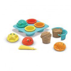 Set à cupcake pour le sable  Melissa & Doug