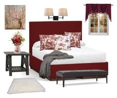 Toile by terry-tlc on Polyvore featuring interior, interiors, interior design, home, home decor, interior decorating, Pottery Barn, Mitchell Gold + Bob Williams, Home Decorators Collection and nuLOOM