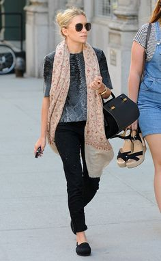 Ashley Olsen | Casual & Cool