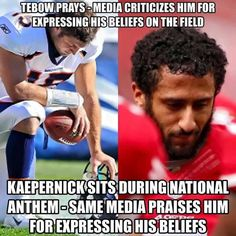 #TimTebow gets destroyed by the liberal media, while this douche gets a free pass. Liberals, the downfall of American society!