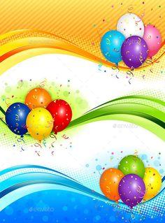 Banner Design Templates for Birthday (3) | PROFESSIONAL TEMPLATES Happy Birthday Banner Printable, Birthday Banner Template, Birthday Banner Design, Free Printable Banner, 1st Birthday Banners, Happy Birthday Cards, Office Birthday, Balloon Banner, Balloons