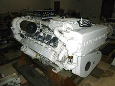 Used Marine Diesel Engines | Strike Marine Salvage Sales | Fort Lauderdale | Florida