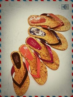 Lovely colorful flats