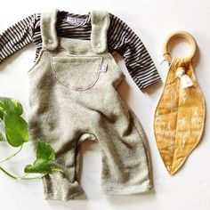 These new overalls are just the sweetest.  (0-3 months through 4t) #thelittlelife